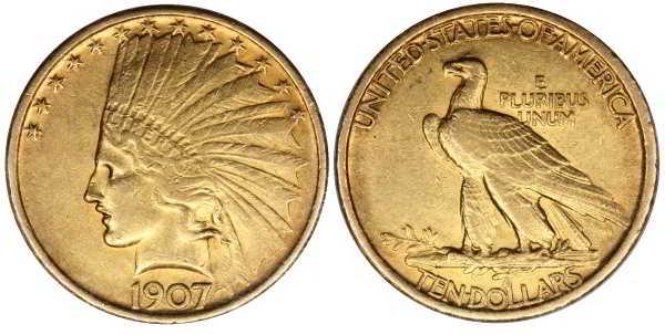 10 долларов 1907 выкупим