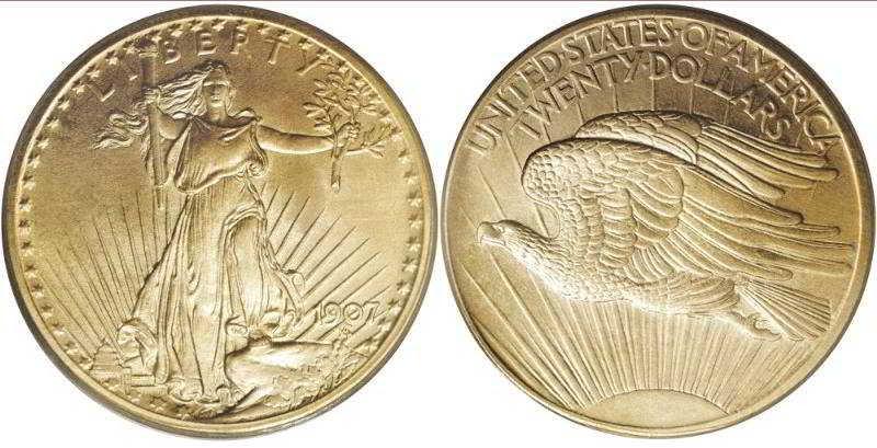купим монеты 20 долларов 1907 г