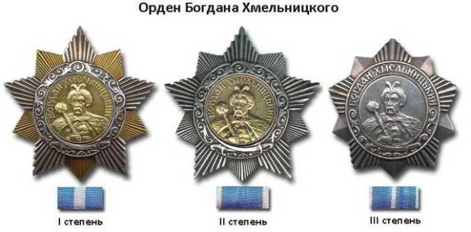 Орден Богдана Хмельницкого оценка и скупка