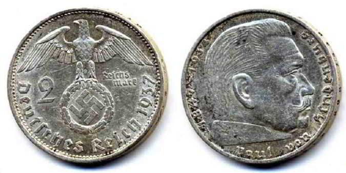 Серебряные монеты Германии и Австрии оцениваем и скупаем