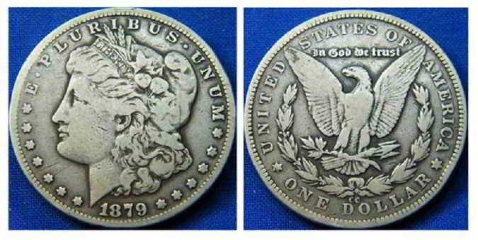 Серебряный доллар США оценим и выкупим
