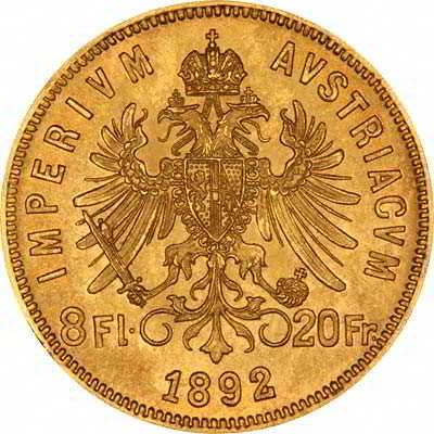 Золотые монеты Австрии оцениваем и покупаем