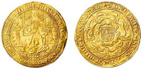 выкуп золотых соверенов 1489