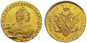 Скупка золотых монет Елизаветы