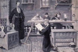 ремесленные школы Петра 1