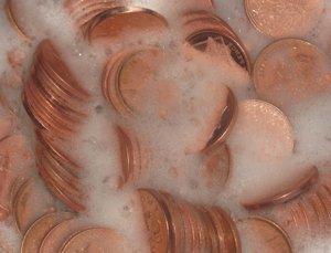 Чистка монет в домашних условиях