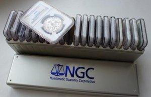 Фирмы выпускающие слабы NGC и PCGS
