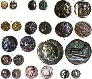 Первые каталоги монет