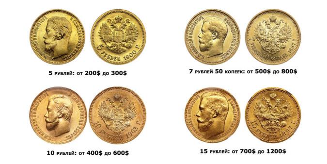 где можно продать монеты царской России