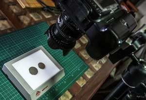 Как сфотографировать монету для онлайн оценки