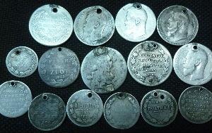подделка серебряных монет
