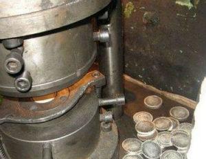 станок для подделки монет