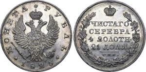 1 рубль Александра I 1825 года