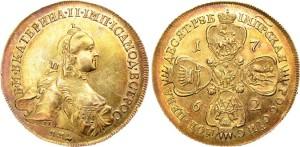 5 рублей Екатерины II 1762 года