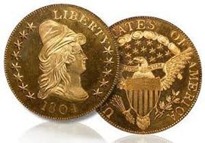 Стоимость монеты 10 долларов США