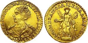 Изображение монеты 2 рубля 1726 года