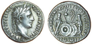 Серебряные монеты Рима Динарий