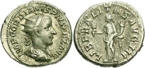 Серебряная монета Рима Двойной Динарий