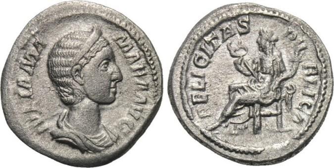 Серебряная монета Рима Квинарий