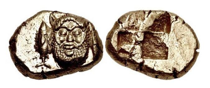 Электровая Монета Греции Мисгемигекта