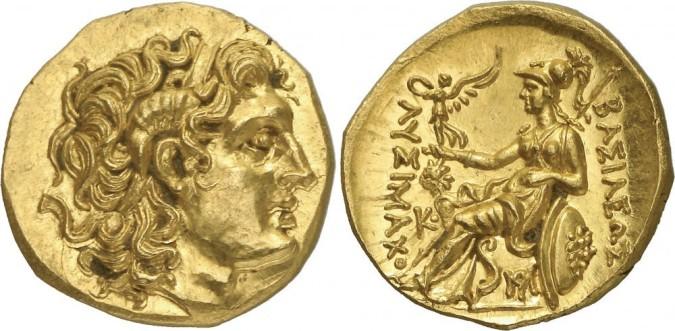 Золотая монета Греции Статер