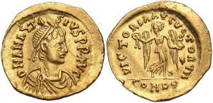 Золотая монета тремиссис