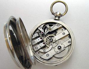 Коллекционные модели серебряных часов