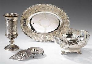 Столовое серебро 18 века- начала 20 века)
