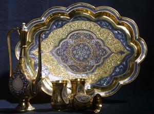 Столовое Кубачинское серебро