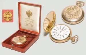 Редкие модели золотых часов