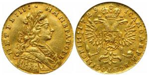 Старинные золотые монеты