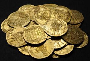 Редкие золотые монеты